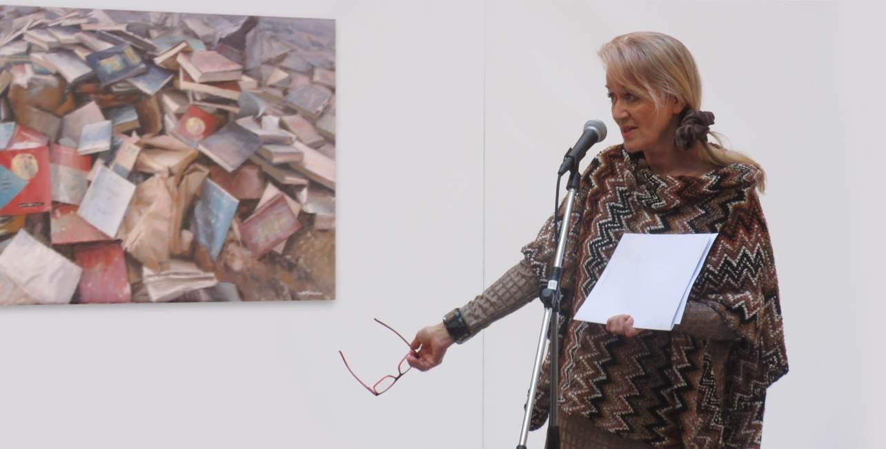 Andrea Mancini mostra su Henry James Genova 2016