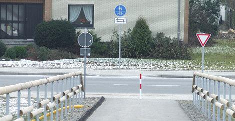 Mönichhusen Fußgänger- und Fahrradbrücke