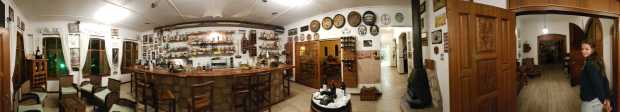 Die Bar im Gondwana Kalahari Farmhouse