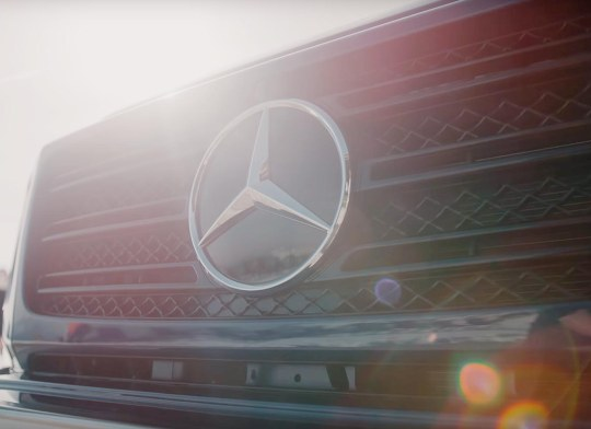 mercedes benz event video