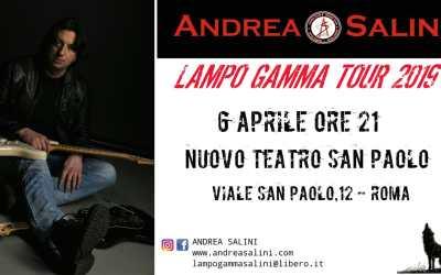 Live @Nuovo Teatro San Paolo – Roma il 6.04.'19 ore 21.00