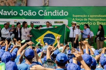 Entrega Navio João Candido da TRANSPETRO no Estaleiro EAS, Recife, PE