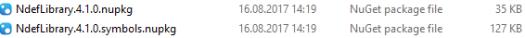 NuGet Package Files
