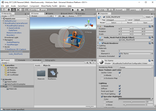 Unity: Mixed Reality Toolkit Shader for Vertex Coloring
