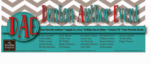 DENTON AUTHOR EVENT AUGUST 2014