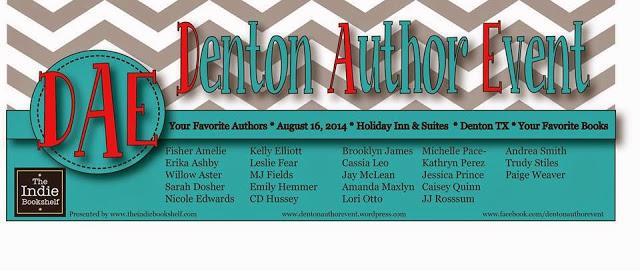DENTON AUTHOR EVENT AUGUST 2014