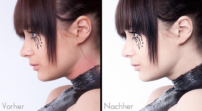 Hautretusche in Photoshop