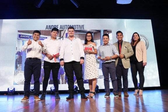AndreLocalBusinessAwards2018Winner-1