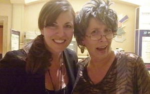 Amy Porterfield and Grandma Mary