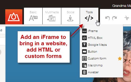 custom forms on facebook tabs