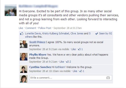 Facebook SMMS group2