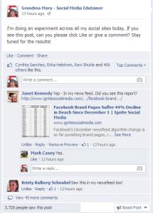Facebook Grandma