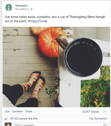 Starbucks porch