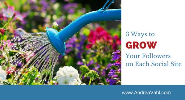 3 Ways to Grow Your Followers on Each Social Site