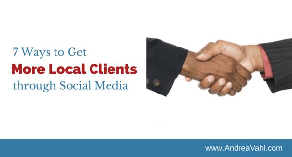 Local Clients through Social Media
