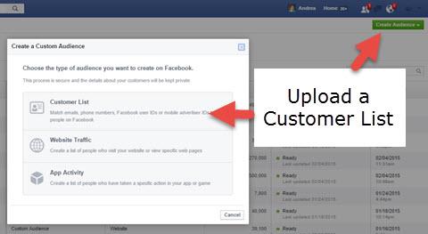 Upload a Custom List
