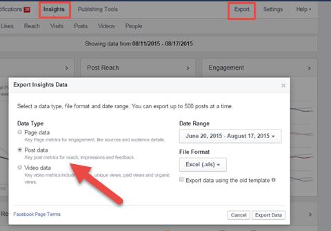 Download Facebook Insights