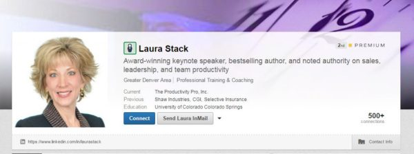 laura stack linkedin