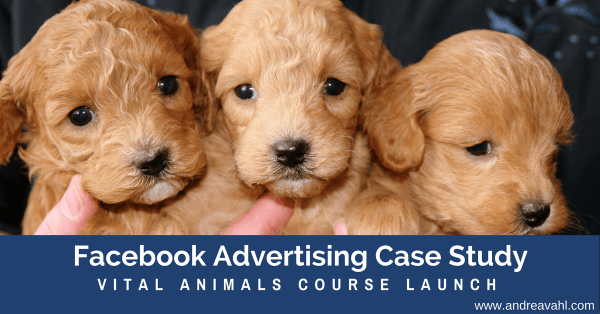Facebook Ads Case Study - Vital Animals Course Launch
