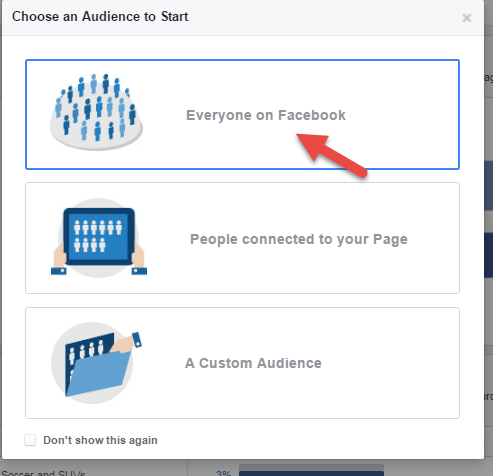 Facebook Audience Insights Everyone