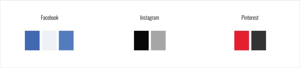 social platform colors
