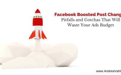 Facebook Boosted Post Changes