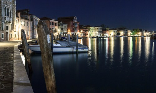 Murano by night…