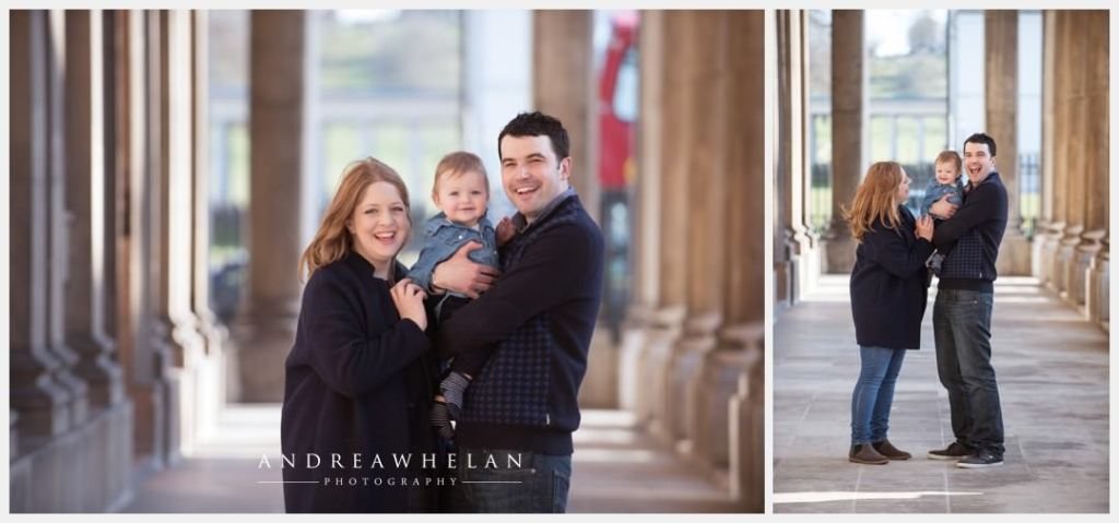 Family baby photo session Royal Naval College Greenwich - Andrea Whelan Photography