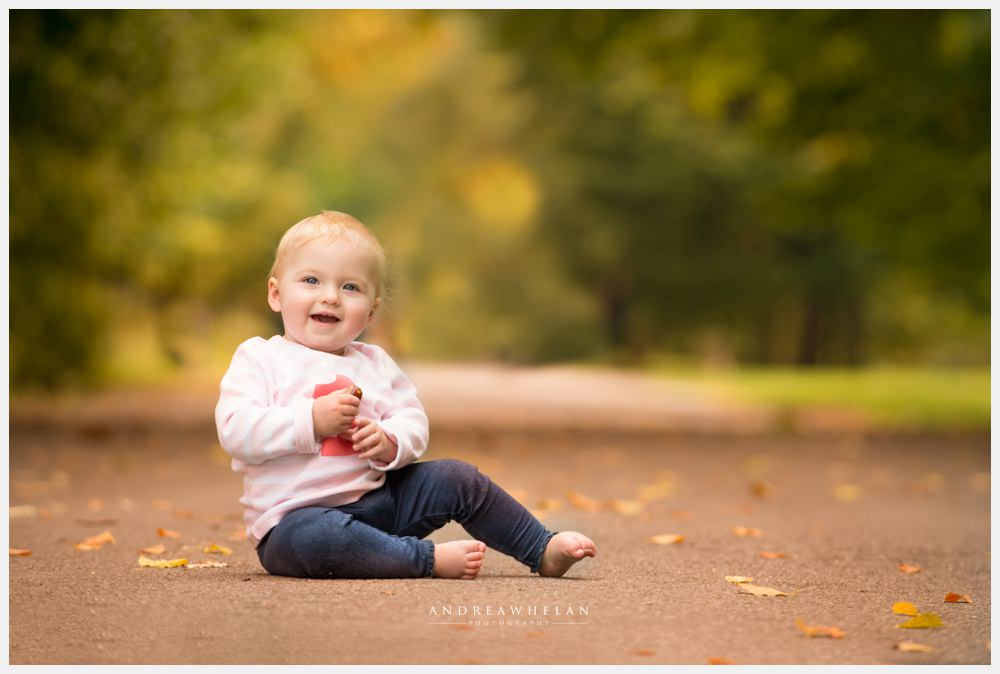 Andrea Whelan Photography 1st Birthday Photo shoot in Greenwich Park