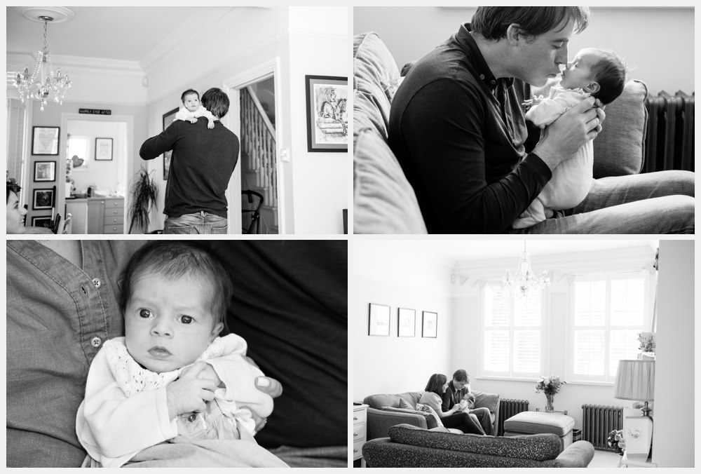 relaxed baby photography session london