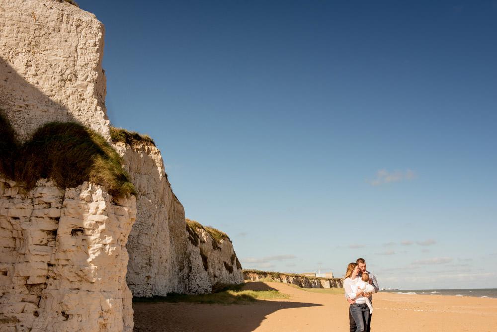 Botany Bay Beach Family Photographer in Kent