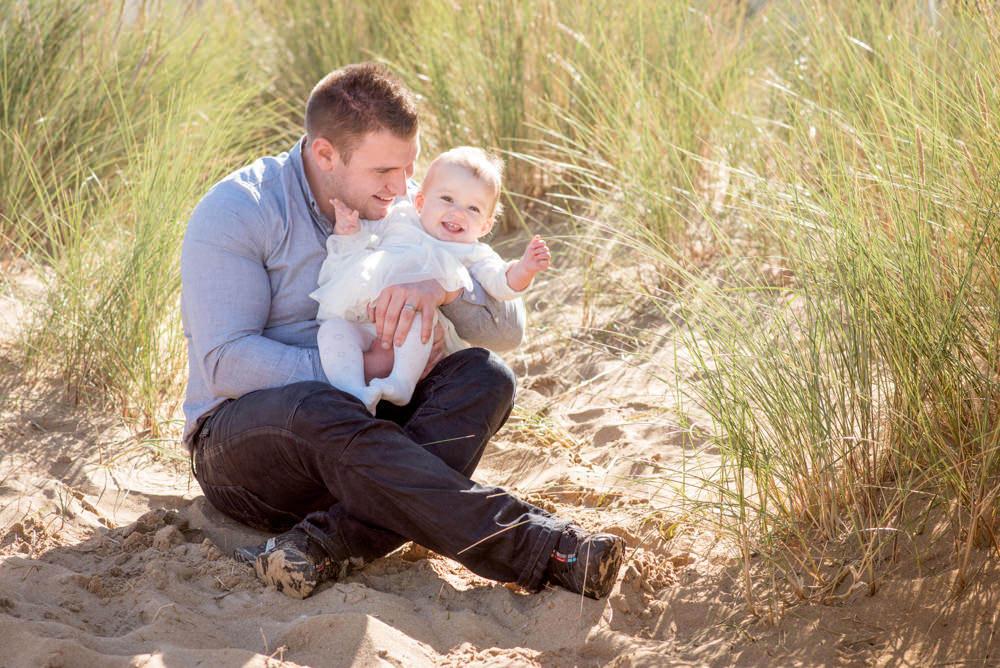 Beach Family Photographer in Kent