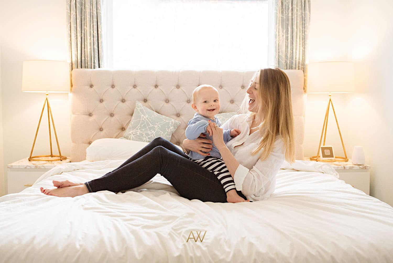 Lifestyle baby photography