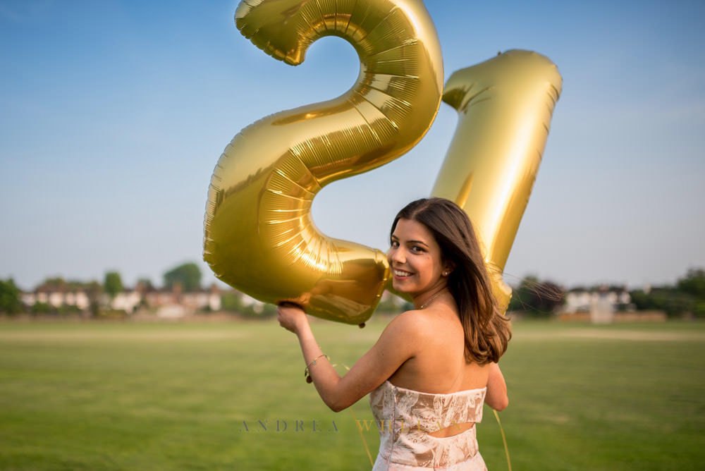 21st birthday party photography