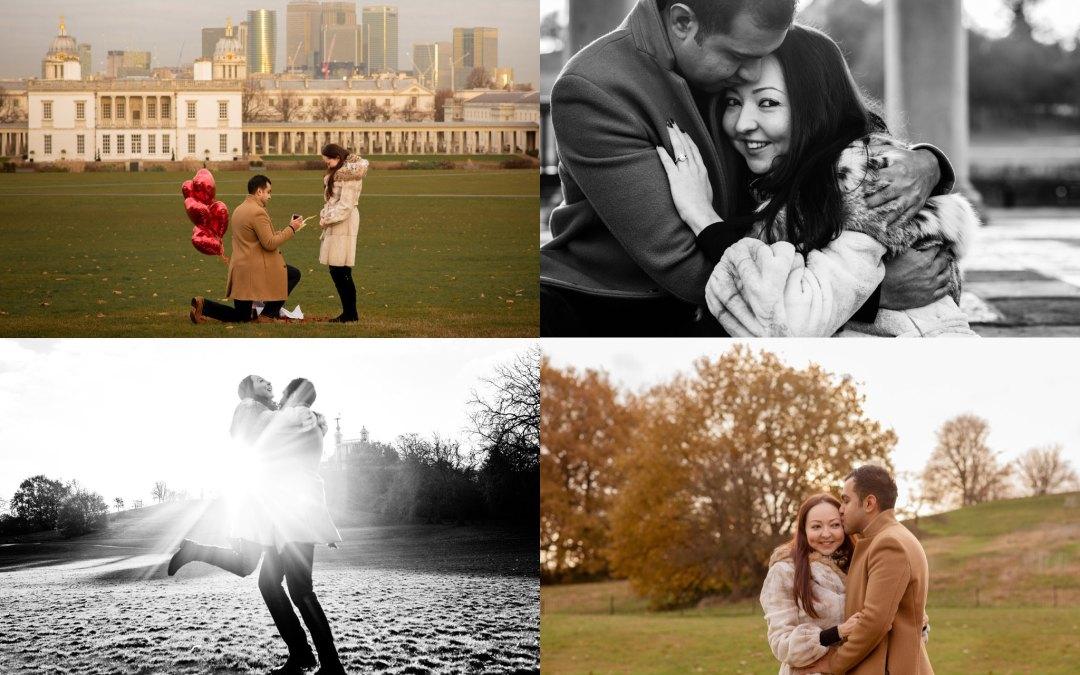 Ricky and Malika – London Marriage Proposal Photography