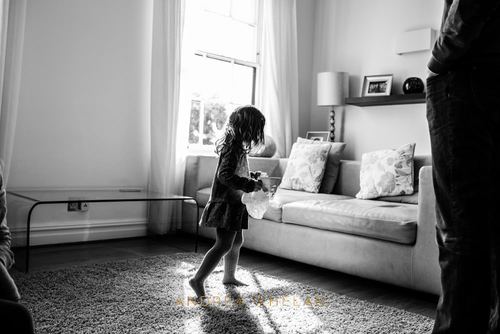 natural light black and white child photographer