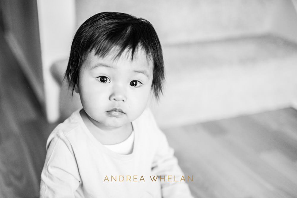 black and white chinese baby girl