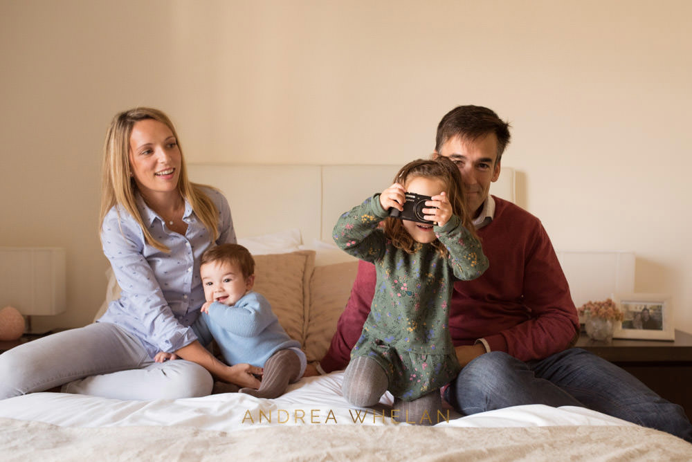 Family portrait photographer central london