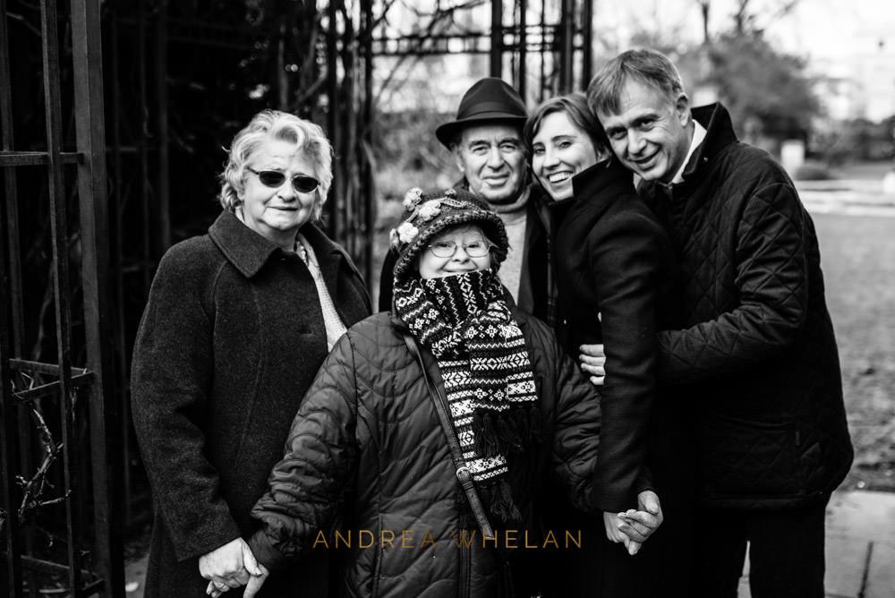 Italian family in London