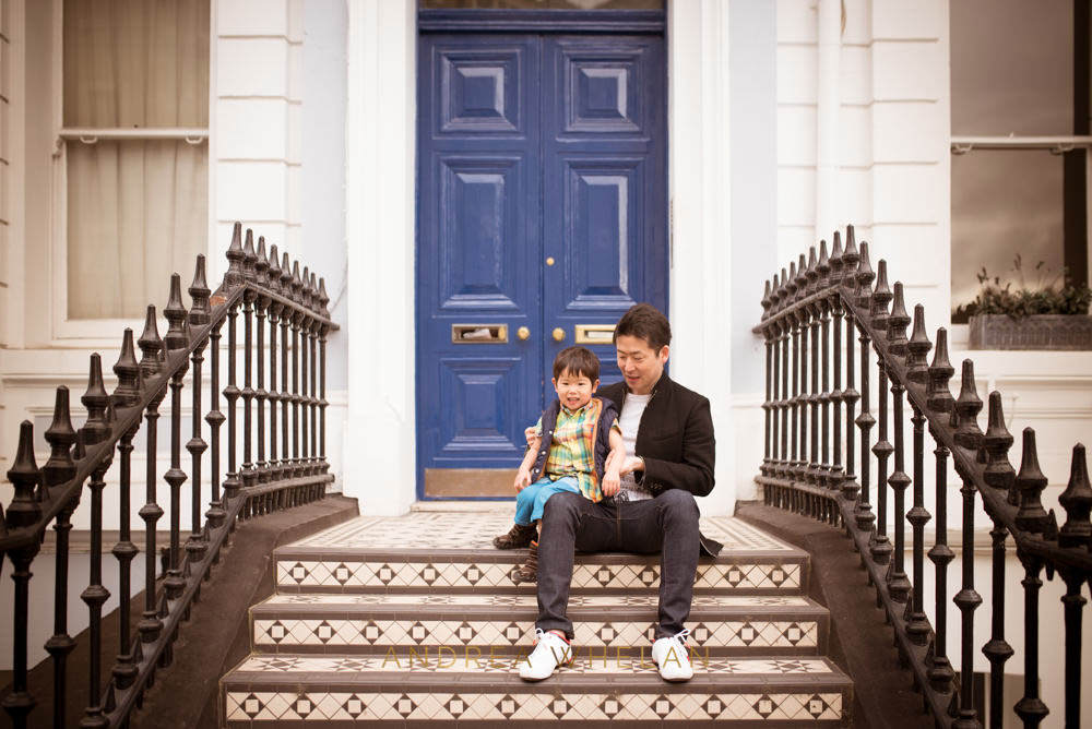 urban family session london