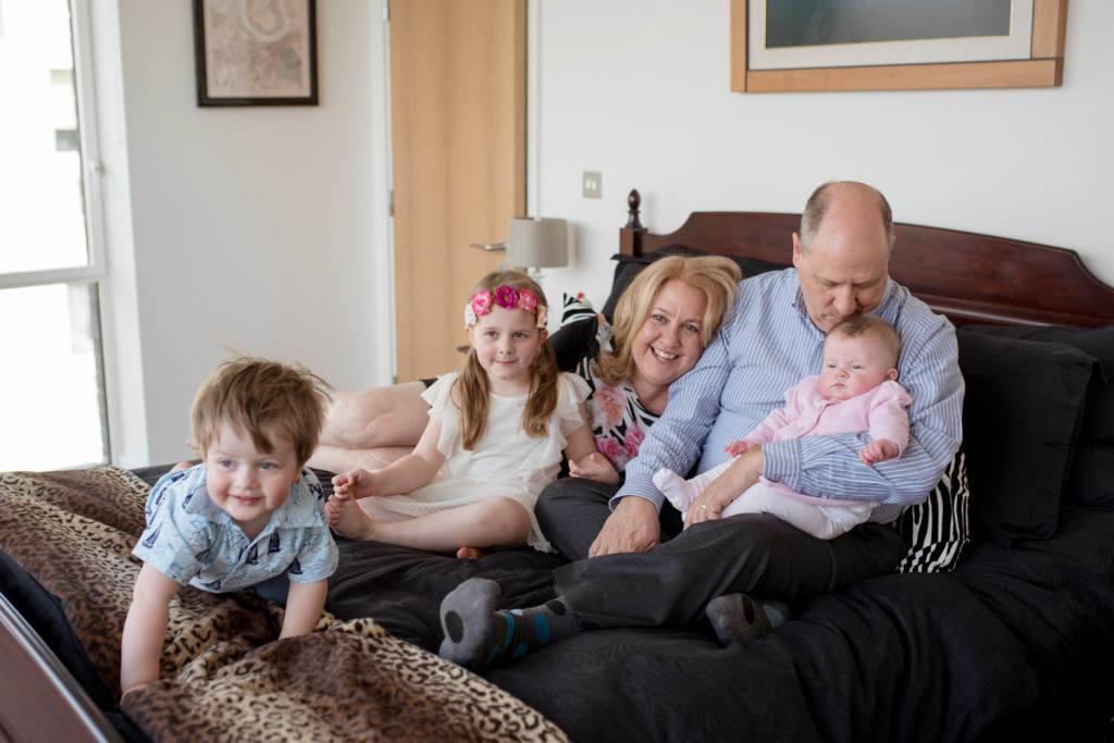 London family portrait