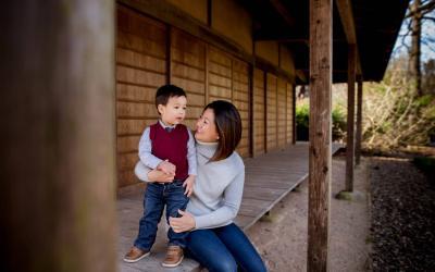Kew Garden Family Photo Session