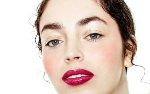 Beauty Close up pink lips