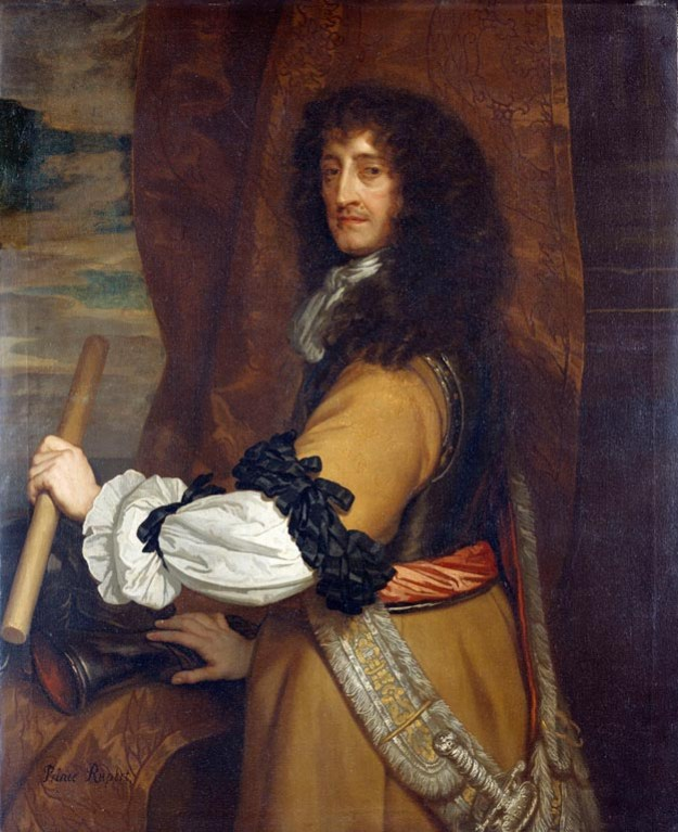 Prince Rupert (1619-82) Painted by Sir Peter Lely (1618-80) c. 1666-68. Royal Collection © Her Majesty Queen Elizabeth II