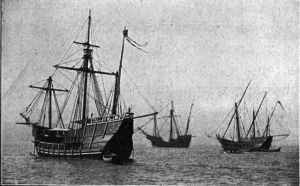 Replicas of Columbus's ships