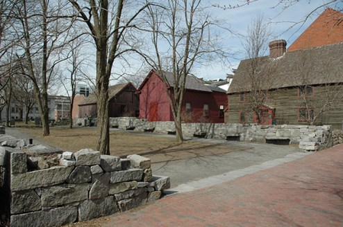 The Salem Witch Trials Memorial, Salem Massachusetts. Photo by Emerson W. Baker