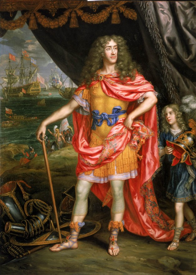 James, Duke of York, 1633-1701, Henri Gascar, 1672-73, © National Maritime Museum, London, Greenwich Hospital Collection.