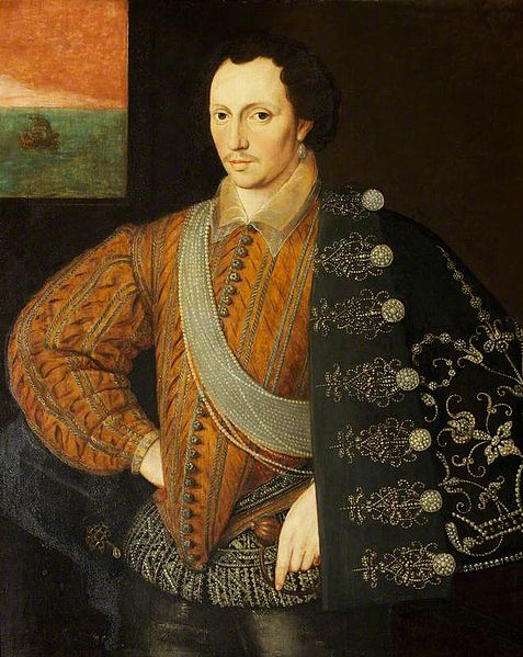 Robert Carey 1st Earl of Monmouth circa 1591, English school. Montacute House.