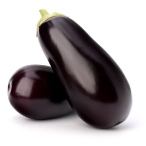 eggplant or aubergine vegetable