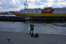 Городская рыбалка.